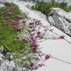 Hot Mess Of Cacti Clare Halifax Print Club London Screen Print