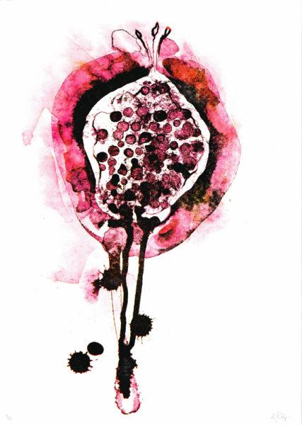 Persephones Fruit Gavin Dobson Print Club London Screen Print