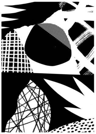 Composure Tom Abbiss Smith Print Club London Screen Print