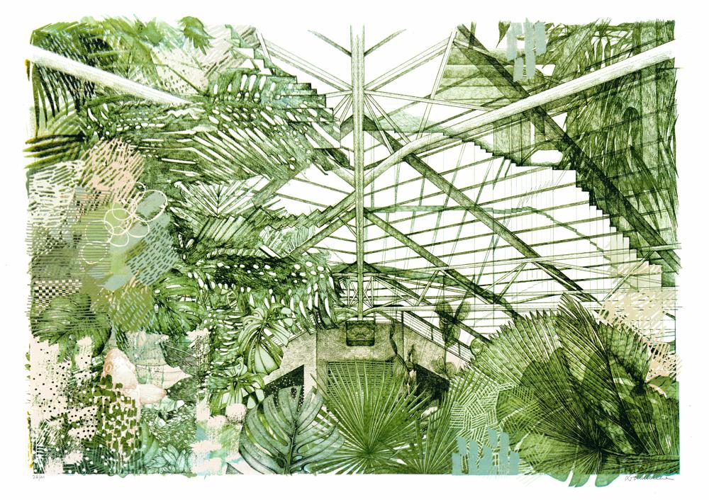 Barbican Lucille Clerc Print Club London Screen Print