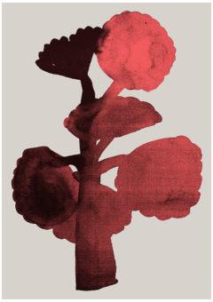 Barbican Botanical III Ellie Foreman-Peck Print Club London Screen Print