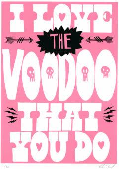 Voodoo Baby Charlie Gould Print Club London Screen Print