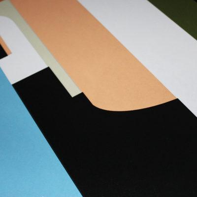 Fictional Interiors Charlotte Taylor Print Club London Screen Print