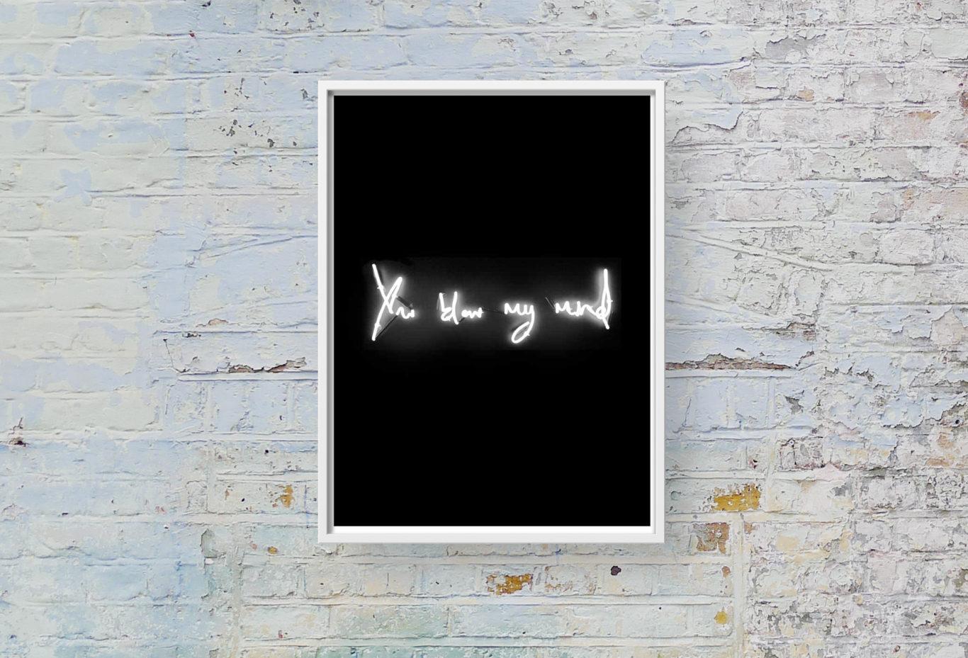 You Blow My Mind Lauren Baker Print Club London Screen Print