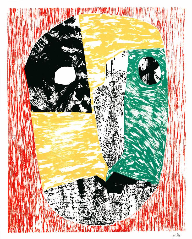 Mask Indra Gersone Print Club London Screen Print