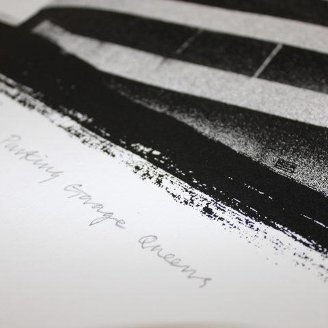 Parking Garage Queens Angus Vasili Print Club London Screen Print