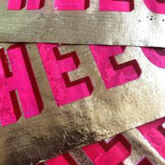 Cheese Dave Buonaguidi Print Club London Screen Print