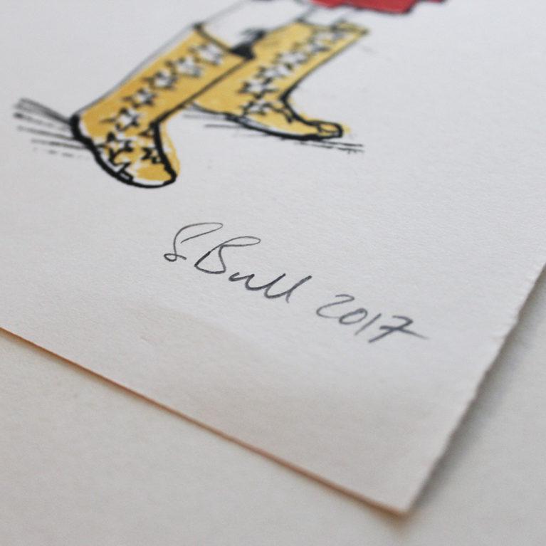 Heroes Sylvia Bull Print Club London Screen Print