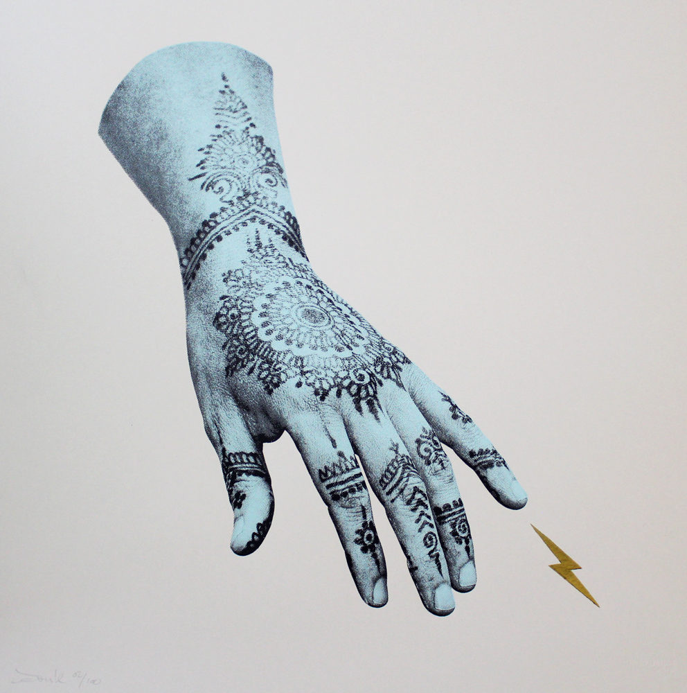 Sparks (Gold Edition) DONK Print Club London Screen Print