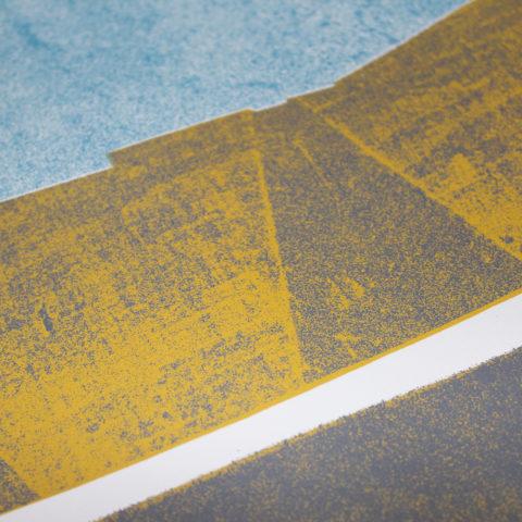 The Hepworth Wakefiled Angus Vasili Print Club London Screen Print