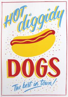 Hot Dog Greater Opacity Print Club London Screen Print