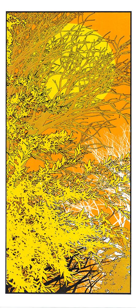 Sunny Day Chris Keegan Print Club London Screen Print