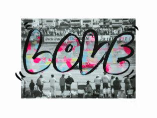 Love In The Fast Lane 2 Rose Stallard Print Club London Screen Print