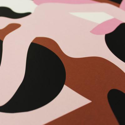 Totem Obsession II – Quentin Monge Print Club London Screen Print
