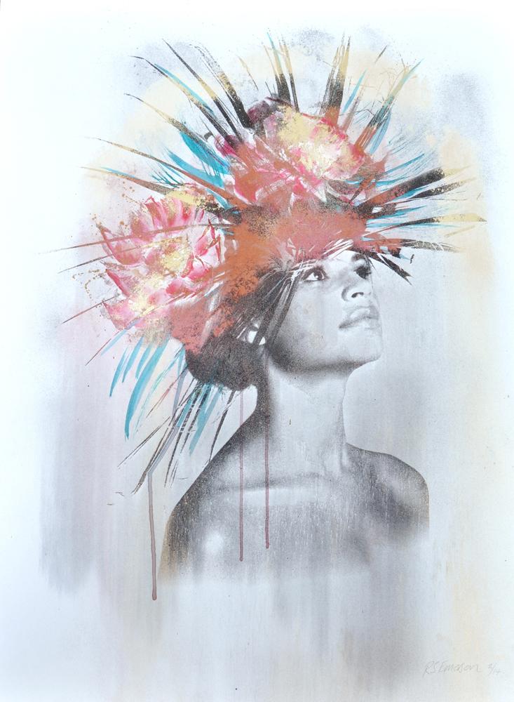 Rosie Emerson Paradiso Print Club London Screen Print