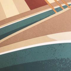 Charlotte Taylor Morning Pool Print Club London Screen Print