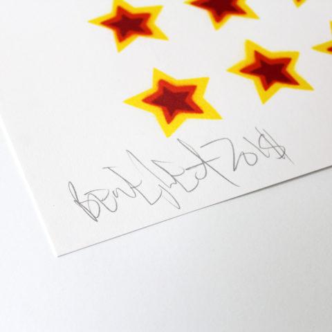 Choose Love Ben Eine Help Refugees Print Club London