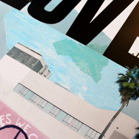 Bonnie & Clyde Choose Love Print Club London Screen Print