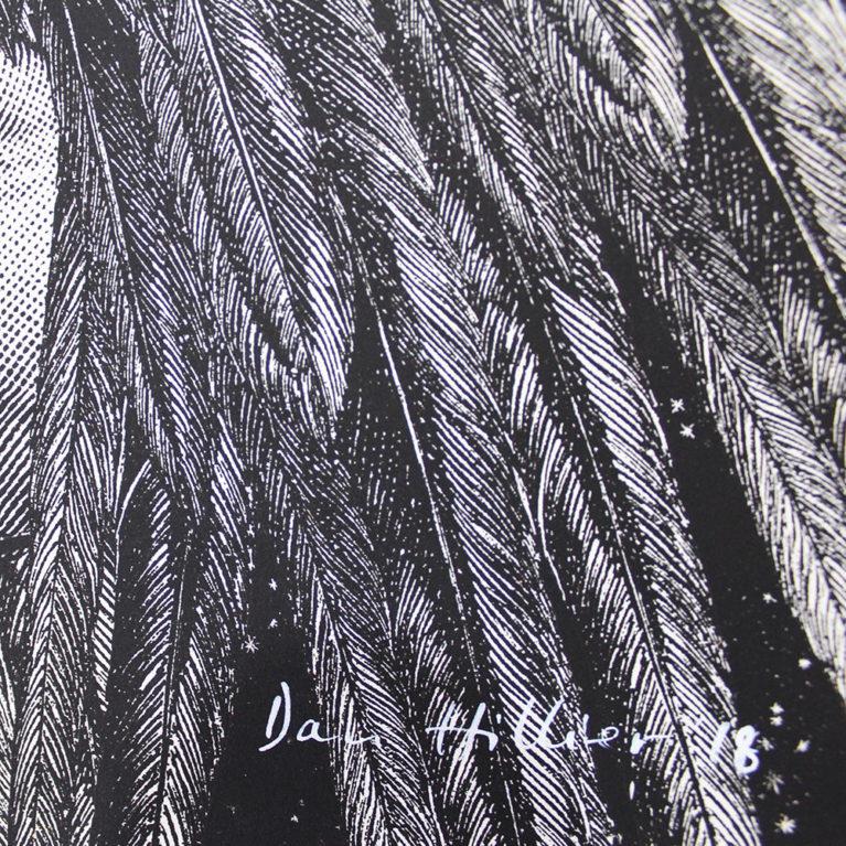 Dan Hillier Choose Love Print Club London Help Refugees Screen Print