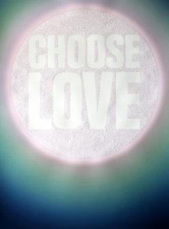 Lauren Baker Choose Love Print Club London Screen Print