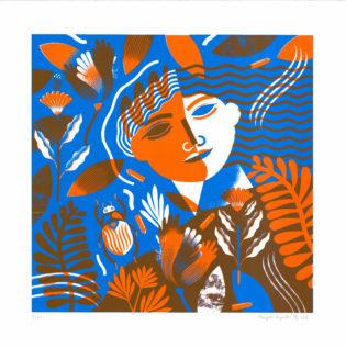 Savage Margaux Carpentier Print Club London Screen Print