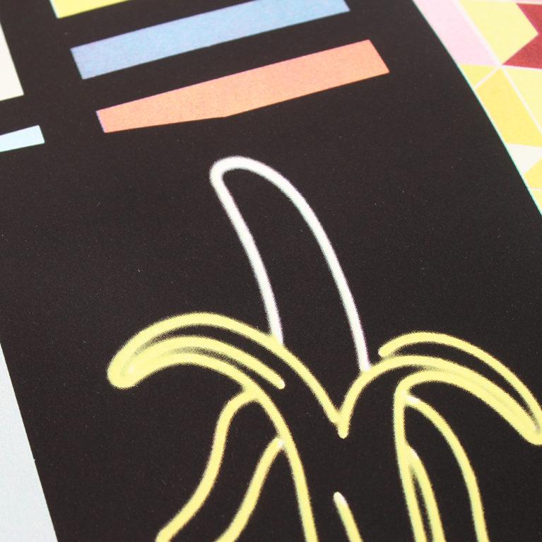 Arcade Mark Hollis Print Club London Screen Print Print Club London