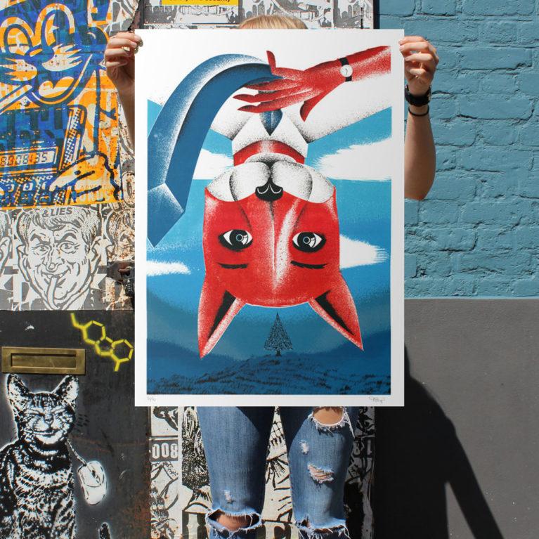 Fantastic Mr Fox Print Club London