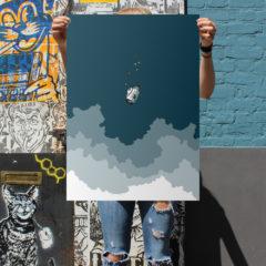 Donnie Darko Louis Craig Carpenter Print Club London