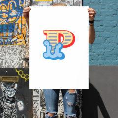 P Ben Eine Print Club London