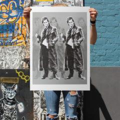 RYCA Withnail and I Print Club London Screen Print