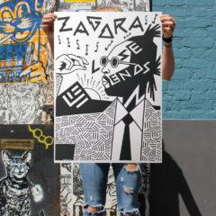 Zagora Print Club London