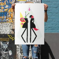 Talk Talk Screen Print Print Club London