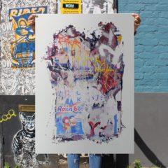 David Shand Rain Blo Print Club London