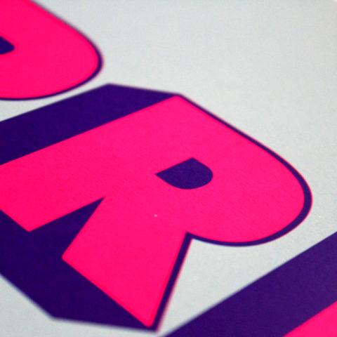 Chris Murphy Curb Your Enthusiasm Print Club London Screen Print