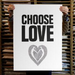 Fee Greening Choose Love Help Refugees Print Club London