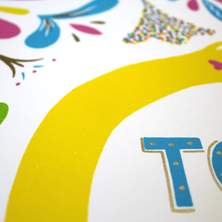 Call The Midwife Francesca Tiley Print Club London Screen Print Blisters