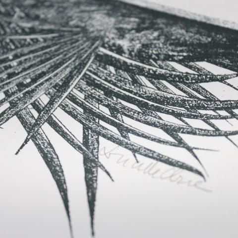 Palm Canopy Lucille Clerc Print Club London Screen Print