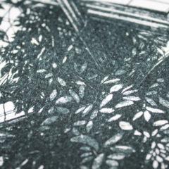 Mini Palm House Lucille Clerc Print Club London Screen Print