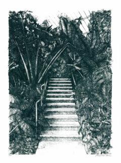 Tropics This Way Lucille Clerc Print Club London Screen Print