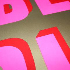 Be Big Dave Buonaguidi Print Club London Screen Print