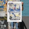 Beach David Shand Print Club London Screen Print