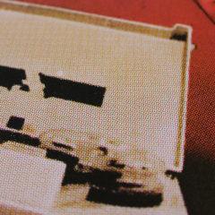 Recorder Oli Fowler Print Club London Screen Print