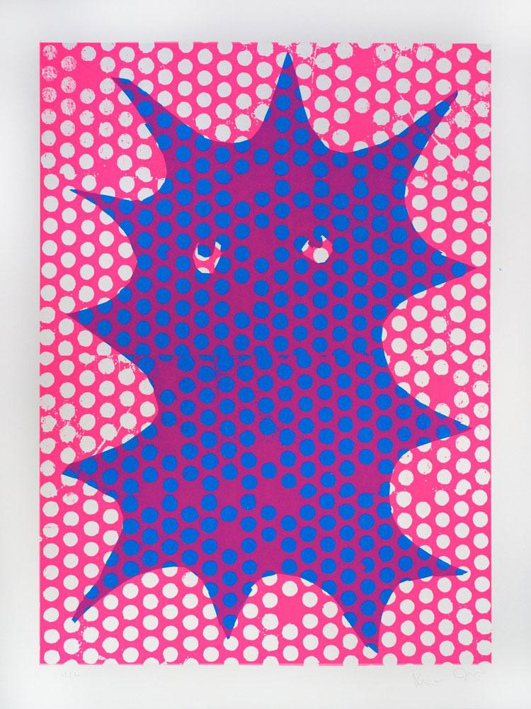 Untitled 103 Gfeller and Hellsgaard Print Club London Screen Print Club Screen Print