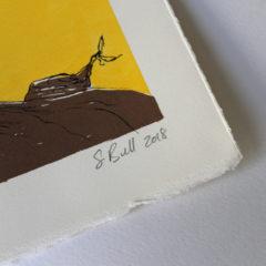 Be Curious Sylvia Bull Print Club London Screen Print