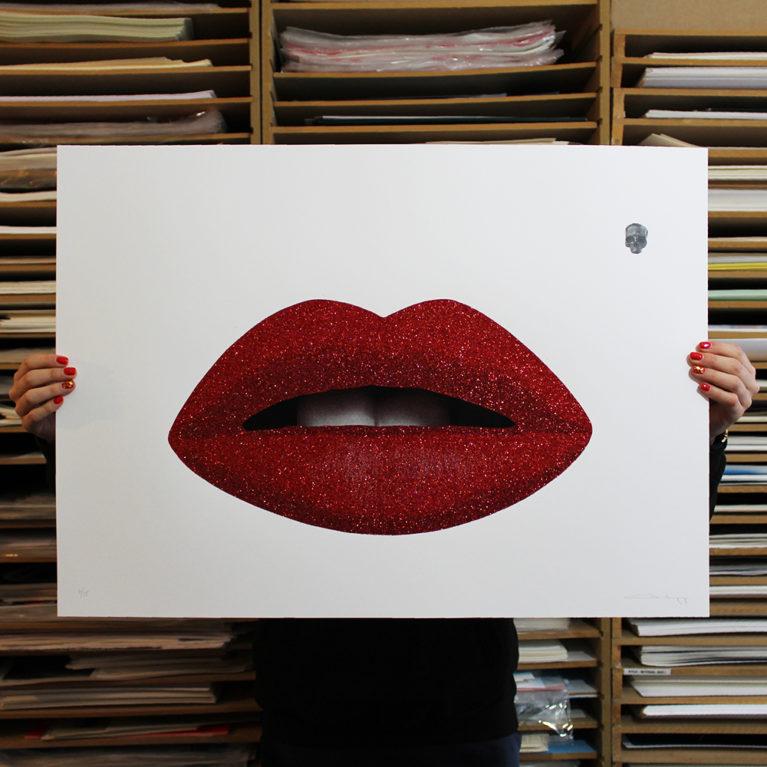 Some Like It Hot Cassandra Yap Print Club London Screen Print