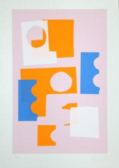 Colour Clash Print Club London Screen Print Jonathan Lawes