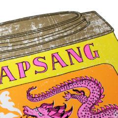 A Soupcon of Lapsang Souchong Charlotte Farmer Print Club London Screen Print