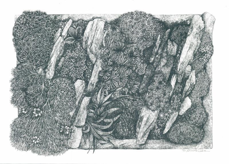 Pocket Garden Lucille Clerc Print Club London Screen Print