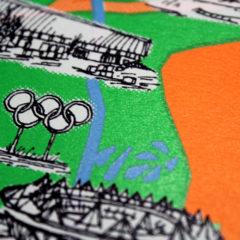 Limehouse Loop Simon Fitzmaurice Print Club London Screen Print