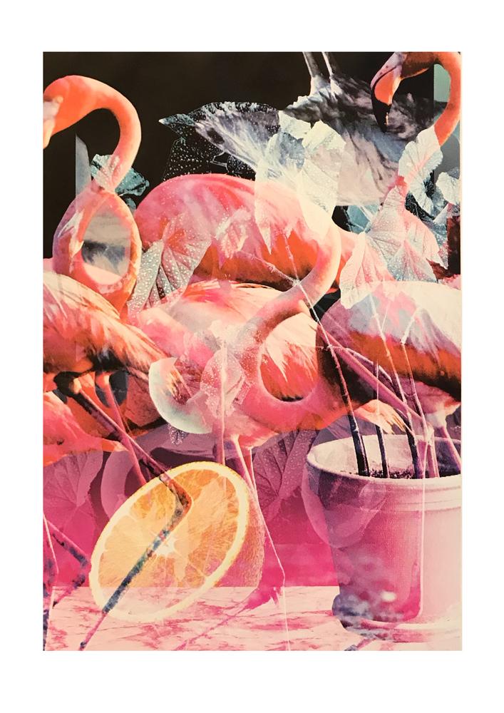 Flam Flam Oli Fowler Print Club London Screen Print